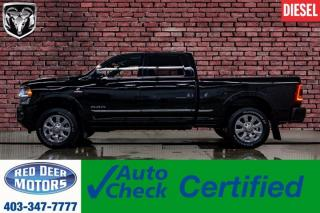Used 2019 RAM 3500 4x4 Crew Cab Limited Diesel Leather Roof Nav BCam for sale in Red Deer, AB