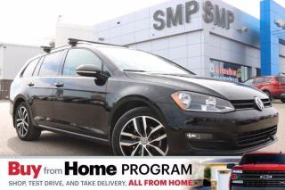 Used 2017 Volkswagen Golf Sportwagen Comfortline Heated Leather, Sunroof, Back Up Camera for sale in Saskatoon, SK