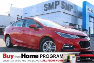 Used 2017 Chevrolet Cruze LT- RS Pkg, Sunroof, Heated Seats, Remote Start, Back Up Camera for sale in Saskatoon, SK