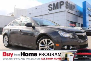 Used 2011 Chevrolet Cruze LTZ - Rs Pkg,  Leather, Sunroof, Rem. Start, Bluetooth, New Tires for sale in Saskatoon, SK