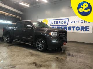 Used 2016 GMC Sierra 1500 SLT 4WD Crew Cab All Terrain * Navigation * Leather interior * Power sunroof *  Park assist * 5 Passenger * Tow package with trailer brake * Heated fr for sale in Cambridge, ON