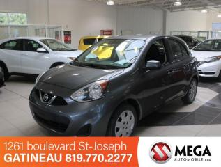 Used 2016 Nissan Micra SV for sale in Gatineau, QC