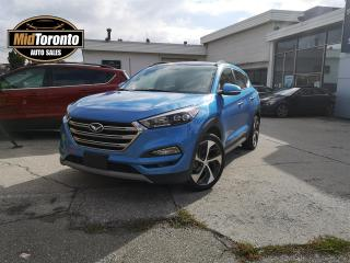 Used 2017 Hyundai Tucson Limited w/Ultimate Package AWD - Sport 1.6 Turbo - Navi - Roof - Leather for sale in North York, ON
