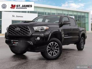 Used 2020 Toyota Tacoma Clean Carfax, Apple Carplay, Backup Camera for sale in Winnipeg, MB