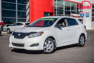 Used 2010 Toyota Matrix GARANTIE PROLONGEE DISPONIBLE* BAS KILOMETRAGE,EXCELLENTE ACHAT for sale in Terrebonne, QC