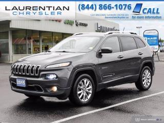 Used 2015 Jeep Cherokee Limited!!  4X4!!  NAVIGATION!!  HEATED SEATS!! for sale in Sudbury, ON