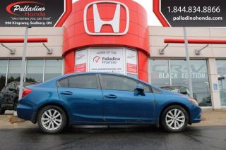 Used 2012 Honda Civic Sdn EX-L-AS IS for sale in Sudbury, ON
