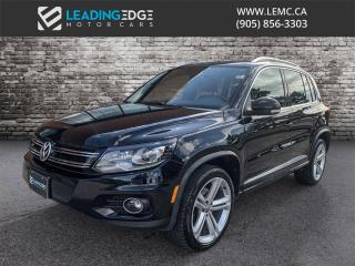 Used 2015 Volkswagen Tiguan Highline R-line for sale in Woodbridge, ON