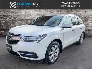 Used 2014 Acura MDX Elite Package Navigation, DVD, 360 Camera, Sunroof for sale in Woodbridge, ON