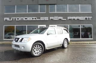 Used 2011 Nissan Pathfinder LE - TOIT - DVD - 7 PASSAGERS - BOSE - CUIR - for sale in Québec, QC