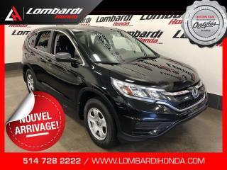 Used 2016 Honda CR-V LX CAM BLUETOOTH  for sale in Montréal, QC