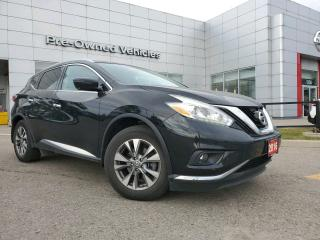 Used 2016 Nissan Murano SL ONE OWNER ACCIDENT FREE TRADE. NISSAN CERTFIED PREOWNED! for sale in Toronto, ON
