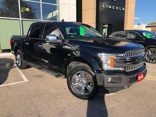 Used 2018 Ford F-150 Lariat LARIAT CREW CAB 4X4 CERTIFIED for sale in Hamilton, ON