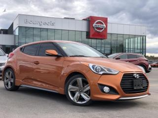 Used 2015 Hyundai Veloster Turbo NAVIGATION, LEATHER, HEATED SEATS for sale in Midland, ON