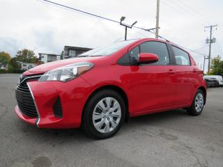 Used 2017 Toyota Yaris LE AUTOMATIQUE A/C BLUETOOTH **52,000KM** for sale in St-Eustache, QC