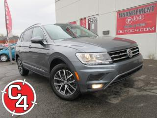 Used 2018 Volkswagen Tiguan Comfortline 4MOTION 4X4 AWD NAVY TOIT PANO MAGS for sale in St-Jérôme, QC