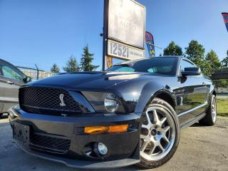 Used 2007 Ford Mustang Shelby GT500, low km, no accidents for sale in Surrey, BC