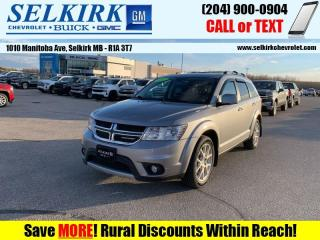 Used 2017 Dodge Journey GT  *AWD, 7-PASS, REAR DVD* for sale in Selkirk, MB