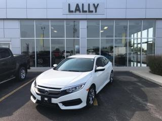 Used 2017 Honda Civic Sedan Back-up Cam, BT, Low km's, well maintained for sale in Tilbury, ON