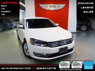 Used 2014 Volkswagen Passat TDI TRENDLINE | CERTIFIED | FINANCE @ 4.65% for sale in Oakville, ON