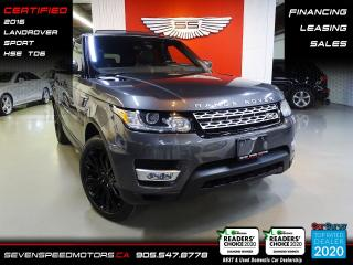 Used 2016 Land Rover Range Rover Sport SPORT HSE TD6 | CERTIFIED | FINANCE | 9055478778 for sale in Oakville, ON