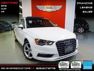 Used 2016 Audi A3 PANORAMA | CERTIFIED | ONE OWNER | FINANCE @ 4.65% for sale in Oakville, ON
