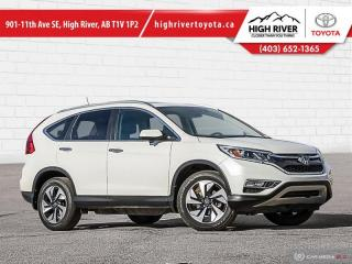 Used 2016 Honda CR-V Touring  - Leather Seats -  Navigation for sale in High River, AB
