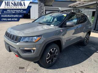 New 2021 Jeep Compass Trailhawk  - Leather Seats - Sunroof for sale in Bracebridge, ON