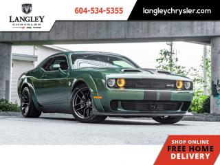 Used 2019 Dodge Challenger SRT Hellcat Widebody  Accident Free / Local for sale in Surrey, BC