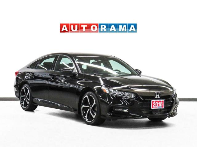 2018 Honda Accord Sport Carplay/AAuto Leather Sunroof Backup Camera