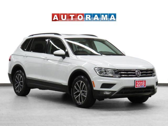 2018 Volkswagen Tiguan Comfortline AWD Nav Leather PanoRoof Backup Camera