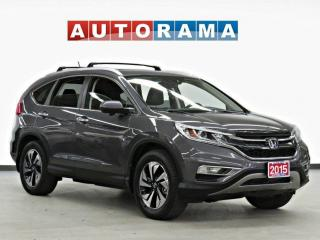 Used 2015 Honda CR-V AWD EX-L Leather Sunroof Backup Camera for sale in Toronto, ON