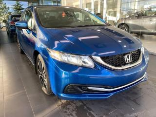 Used 2014 Honda Civic Sedan EX, ACCIDENT FREE, HEATED SEATS, SUNROOF, REAR VIEW CAMERA for sale in Edmonton, AB