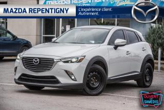 Used 2017 Mazda CX-3 GT AWD TOIT OUVRANT CUIR GPS 67.36$/SEM for sale in Repentigny, QC