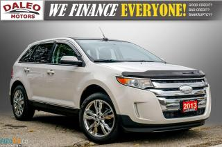 Used 2013 Ford Edge SEL / REMOTE START / MOONROOF / NAVI / LEATHER / for sale in Hamilton, ON