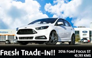 Used 2016 Ford Focus ST FWD 6-SPEED MANUAL for sale in Red Deer, AB
