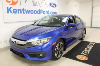 Used 2016 Honda Civic Sedan 3 MONTH DEFERRAL! *oac | EX-T | Sunroof | Back up Camera | LOW KMs for sale in Edmonton, AB