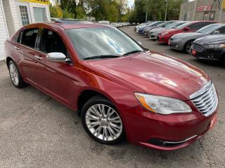 Used 2011 Chrysler 200 SUNROOF/ BLUETOOTH/ PWR SEATS/ TINTED/ ALLOYS ++ for sale in Scarborough, ON