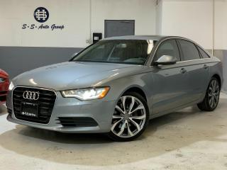 Used 2014 Audi A6 TDI TECHNIK|NAV|360 CAM|BLIND SPOT|DRIVE SELECT| for sale in Oakville, ON