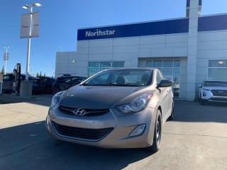 Used 2012 Hyundai Elantra GLS/2SETSTIRES/MANUAL/SUNROOF/ALLOYS/FOGLIGHTS for sale in Edmonton, AB