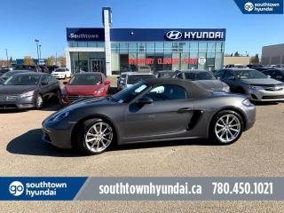 Used 2019 Porsche Boxster 718 RARE LOW KMS 718 BOXSTER! for sale in Edmonton, AB