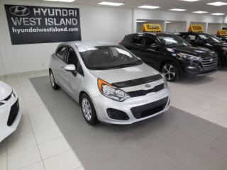 Used 2014 Kia Rio LX+ AUTO A/C BT CRUISE GROUPE ÉLECTRIQUE for sale in Dorval, QC