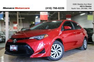 Used 2017 Toyota Corolla LE - BACKUPCAM|LANE WARNING|RADAR CRUSIE|HTD SEATS for sale in North York, ON