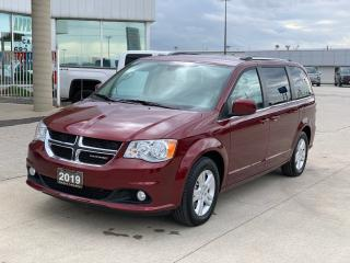 Used 2019 Dodge Grand Caravan Crew Plus for sale in Tilbury, ON