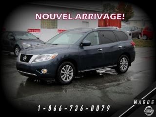 Used 2016 Nissan Pathfinder SV 4WD + CAMÉRA + 7 PLACES + A/C + MAGS! for sale in Magog, QC