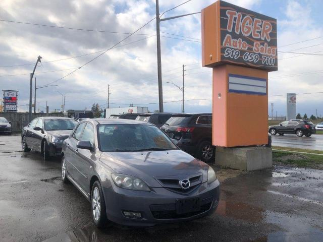 2007 Mazda MAZDA3 GT**MANUAL**ONLY 179KMS**ALLOYS**AS IS SPECIAL