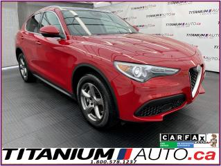 Used 2018 Alfa Romeo Stelvio TI+Pano Roof+GPS+Blind Spot+Camera+AWD+Remote Star for sale in London, ON