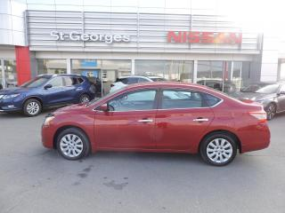Used 2014 Nissan Sentra Berline 4 portes CVT S for sale in St-Georges, QC