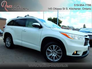 Used 2015 Toyota Highlander XLE AWD.Navi.Camera.Leather.Roof.8Passenger.LowKms for sale in Kitchener, ON