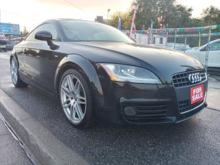 Used 2008 Audi TT 2.0T-EXTRA CLEAN-LEATHER-BLUETOOTH-AUX-ALLOYS for sale in Scarborough, ON